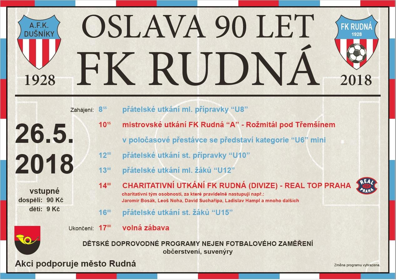 90.let FK Rudná